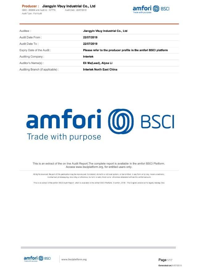 BSCI-Certification
