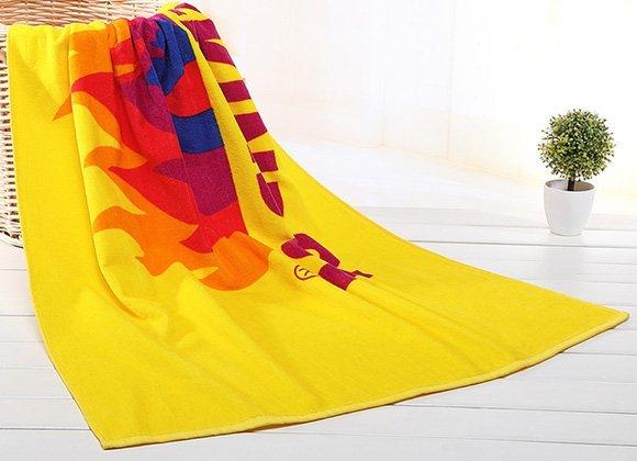 Microfiber Reactive Printing Beach Towel